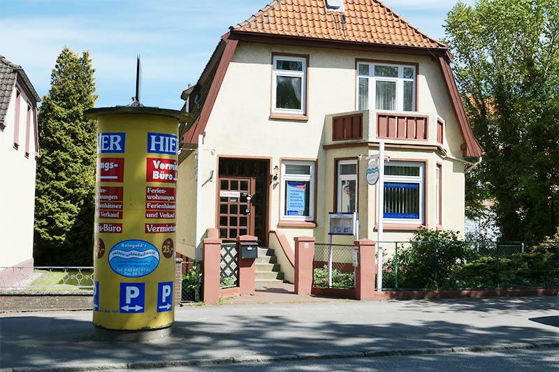 Reingold's-Ostsee-Urlaubsdienst Foto Aussenansicht